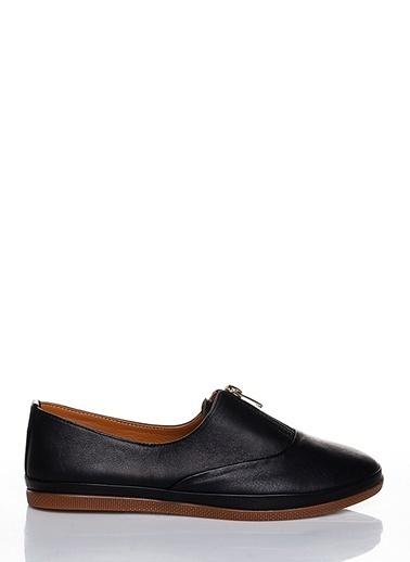 Efem Deri Ayakkabı Siyah